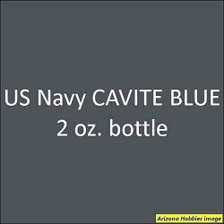 U.S. Navy CAVITE BLUE (late 1941 on) 2 oz.