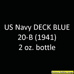 U.S. Navy DECK BLUE 20-B (1939-1941) 2 oz.