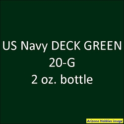 U.S. Navy DECK GREEN 20-G (1943) 2 oz.