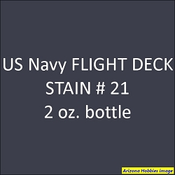 U.S. Navy FLIGHT DECK STAIN 21 (late 1941 on) 2 oz.
