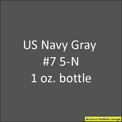 U.S. Navy GRAY 5-N # 7 1 oz.