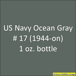U.S. Navy OCEAN GRAY No. 17 (1944-1945) 1 oz.