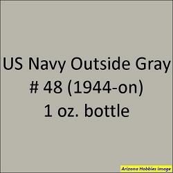 U.S. Navy OUTSIDE GRAY No. 46 (1944-1945) 1 oz.
