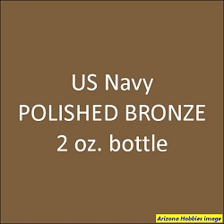 U.S. Navy POLISHED BRONZE (Propellers) 2 oz.