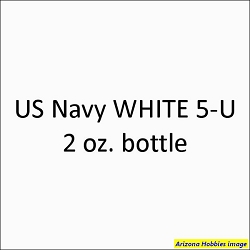 U.S. Navy WHITE 5-U 2 oz.