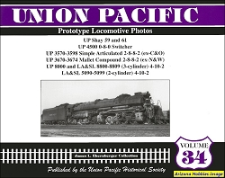 Union Pacific Prototype Locomotive Photos Vol. 34: Shays and Other Locomotives
