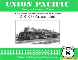 Union Pacific Prototype Locomotive Photos Vol. 08: 2-8-8-0 Articulated
