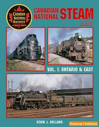 Canadian National Steam In Color Vol. 1: Ontario and East
