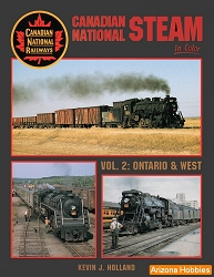 Canadian National Steam In Color Vol. 2: Ontario and West