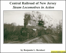 Central Railroad of New Jersey Steam Locomotives in Action