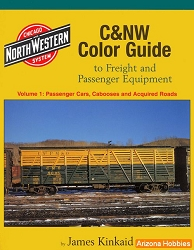 Chicago & North Western Color Guide to Freight and Passenger Equipment Vol. 1