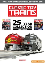 Classic Toy Trains: 25+ Year Collection 1987-2014 DVD-ROM