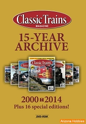 Classic Trains Magazine: 15 Year Archive DVD