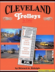 Cleveland Trolleys In Color