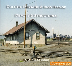 Duluth, Missabe & Iron Range Depots and Structures CD Book
