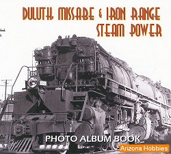 Duluth, Missabe & Iron Range Steam Power Photo CD Book