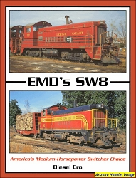 EMD's SW8: America's Medium-Horsepower Switcher