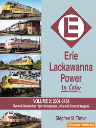 Erie Lackawanna Power In Color Vol. 2: 3301-8454