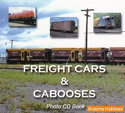Freight Cars and Cabooses Photo CD Book