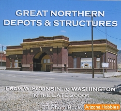 Great Northern Depots and Structures Photo CD Book