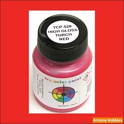 High-Gloss TORCH RED 1 oz.