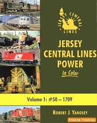 Jersey Central Lines Power In Color Vol. 1: 50-1709