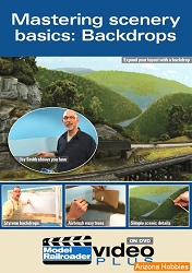 Mastering Scenery Basics: Build and Paint Backdrops DVD