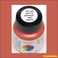 Matte Brick ORANGE-RED 1 oz.