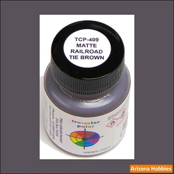 Matte RAILROAD TIE BROWN 1 oz.