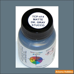 Matte Stucco DARK GRAY 1 oz.