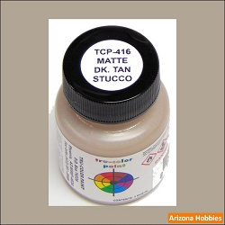 Matte Stucco DARK TAN 1 oz.