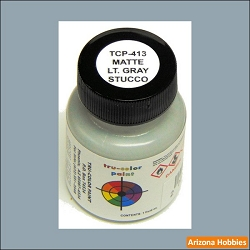Matte Stucco LIGHT GRAY 1 oz.