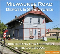 Milwaukee Road Depots and Structures Photo CD Book