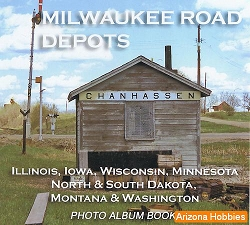 Milwaukee Road Depots Photo CD Book