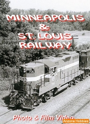 Minneapolis & St. Louis Railway DVD and Photo CD Book