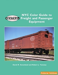 New York Central Color Guide to Freight and Passenger Equipment Vol. 1