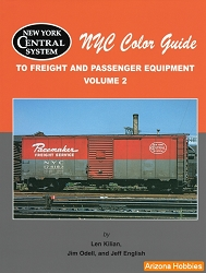 New York Central Color Guide to Freight and Passenger Equipment Vol. 2