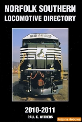Norfolk Southern Locomotive Directory 2010-2011