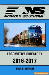Norfolk Southern Locomotive Directory 2016-2017