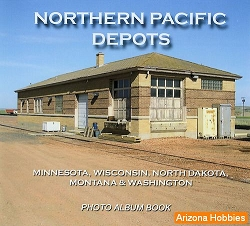 Northern Pacific Depots Photo CD Book