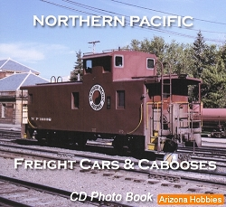Northern Pacific Freight Cars and Cabooses Photo CD Book
