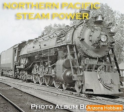 Northern Pacific Steam Power Photo CD Book