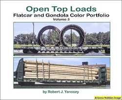 Open Top Loads: Flatcar and Gondola Color Portfolio Vol. 3