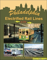 Philadelphia Electrified Rail Lines In Color