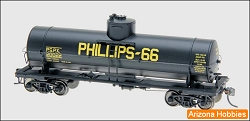 PHILLIPS 66 HO Scale 10000 Gallon Welded Tank Car