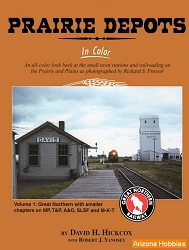 Prairie Depots In Color Vol. 1: GN, MP, A&O, SLSF and M-K-T