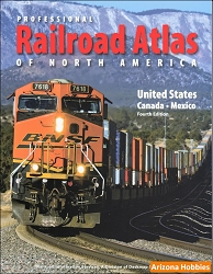 Professional Railroad Atlas of North America 4th Edition