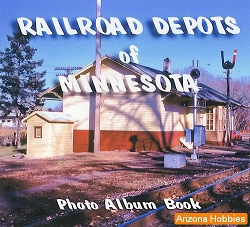 Railroad Depots of Minnesota Photo CD Book