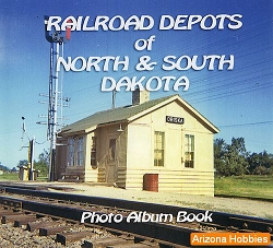 Railroad Depots of North and South Dakota Photo CD Book