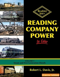 Reading Company Power In Color Vol. 1: Steam and First-Generation Diesels